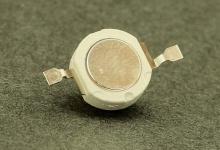 Светодиод белый 1W (120-130 lm) тёплый