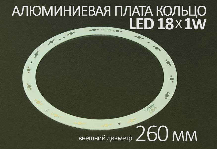 Алюминиевая плата кольцо DGW-XDD-18