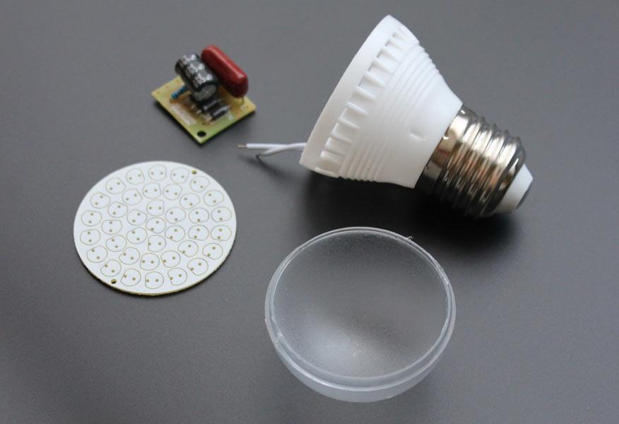 Конструктор лампы светодиодной SSH38 E27
