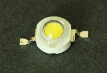 Светодиод белый 1W (130-140 lm) холодный