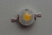 Светодиод белый 2W (140-180 lm)  тёплый