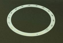 Алюминиевая плата кольцо 260мм-18W