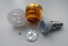 """Набор LED лампа """"свеча"""" 3W E14/Е27 (матовая)"""